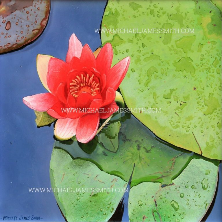 Lily Flower Art Tutorial