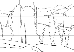 winter-austria-sketch